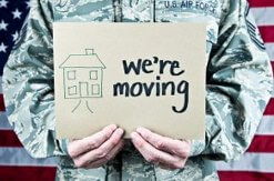 military moving relocation